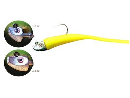 Al Gags EEL12 Whip-It Eel Lure 6in
