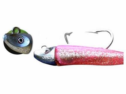 Al Gags EELTS2 Whip-It Eel Tuna Lure 10in 08 Yellow Pearl