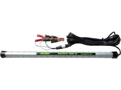 Alumiglo SuperBrite 8000-X2 24'' Green/White LED Fishing Light