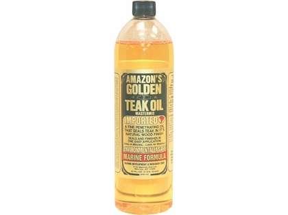 Amazon's Golden Teak Oil - Gallon