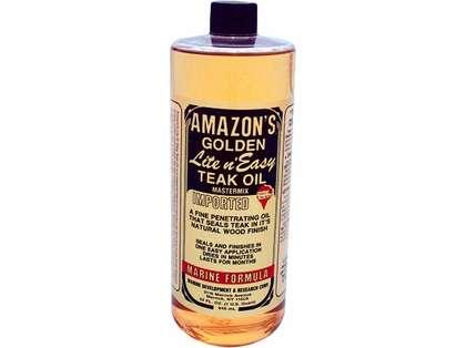 Amazon's ''Lite N' Easy'' Teak Oil