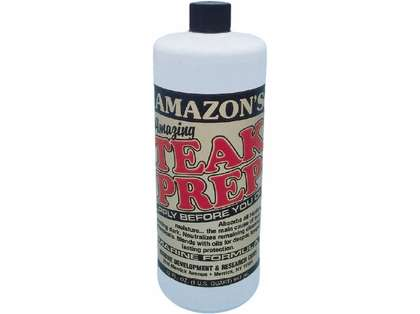 Amazon's Teak Prep
