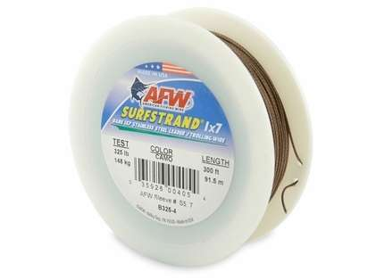 American Fishing Wire 1X7 Stainless Steel Leader Wire B325-4