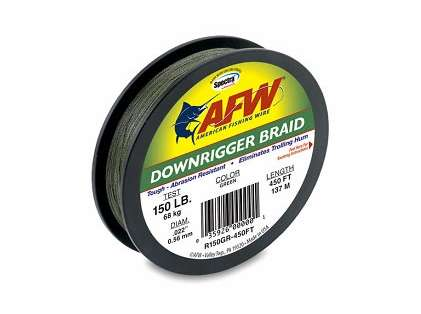 American Fishing Wire RB200GR-450FT Downrigger Braid