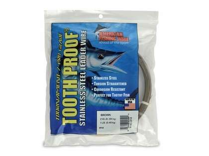 American Fishing Wire S14C-01 ToothProof Stainless Steel Leader Wire