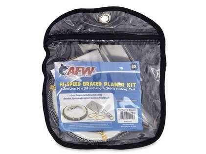 American Fishing Wire TA-PL8HS-BR-KIT Hi-Speed Braced Planer Kit