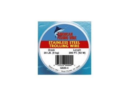 American Fishing Wire - Stainless Steel Trolling Wire