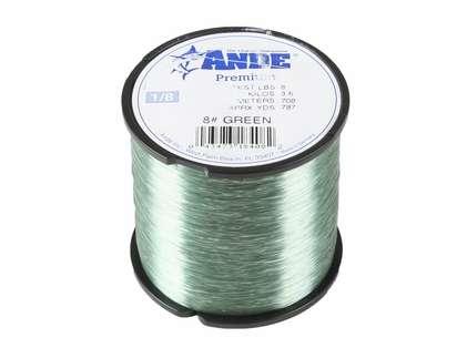 Ande Premium Mono 1/8 Lb. Spool 8 Lb. Test Green