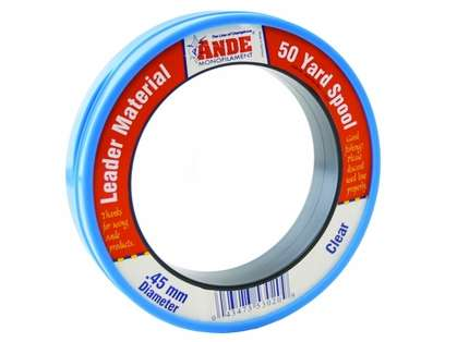 Ande FCW50-120 Fluorocarbon Leader - 50yd 120lb Clear