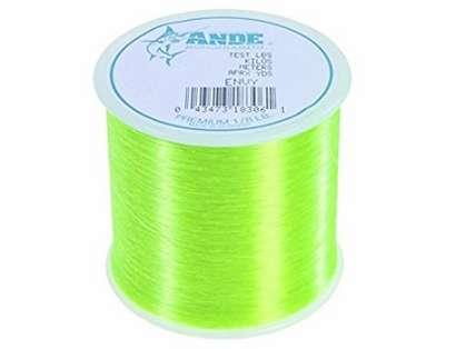 Ande Premium Mono 1/8 Lb. Spool 6 Lb. Test Hi Vis Green