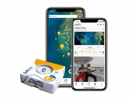 Anglr Bullseye Fishing Tracker w/ GPS App