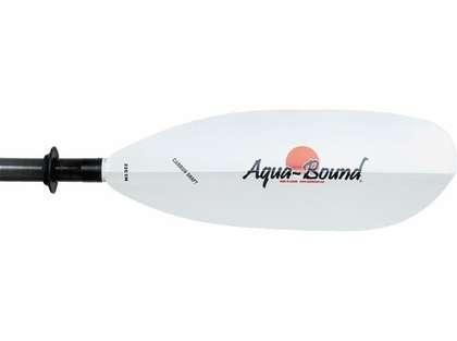 Aqua-Bound Sting Ray Kayak Paddle White Abx Blade Carbon TLC Shaft