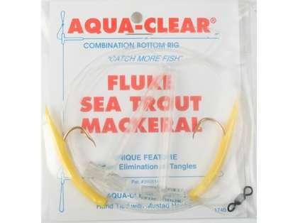 Aqua-Clear FW-1DY Fluke/Sea Trout/Mackeral High/Low Rig