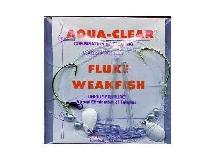 Aqua-Clear FW-1P2S Flounder/Weakfish High/Low Rig