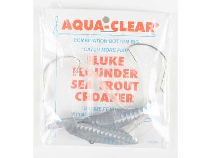 Aqua Clear Fluke/Flounder/Trout/Croaker High Low Rig