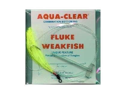 Aqua-Clear FW-4AC Flounder/Weakfish Single Leader Rig