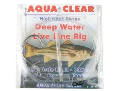 Aqua-Clear ST-7DE Striped Bass Deep Water Live Line Rig
