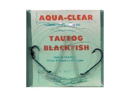 Aqua clear tb 14 tautog blackfish high low rig tackledirect for Tautog fishing rigs