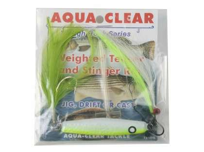 Aqua-Clear Weighted Teaser Stinger Rig