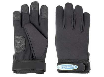 AquaSkinz Black Thunder Sports Gloves