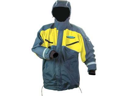 AquaSkinz Nor-Easter Full Zip Up Blue/Yellow