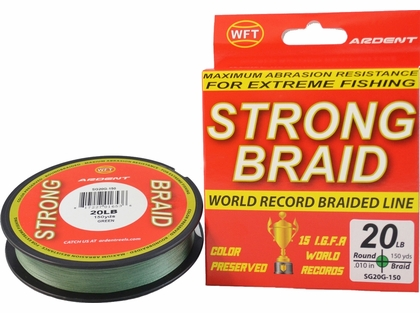 Ardent Strong Braid Fishing Line - 150 yds