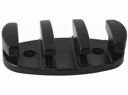 Attwood 11926-7 Zig-Zag Rope Cleat - Black Nylon - 3-1/2 in.