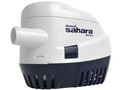 Attwood S1100 GPH 1100 Sahara Automatic Bilge Pump
