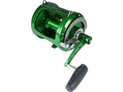 Avet EXW 80/2 Two-Speed Lever Drag Big Game Reel Green
