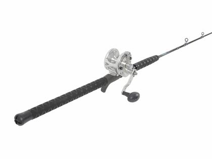 Avet G2 JX Silver / TackleDirect TDSCJ66H Conventional Jigging Combo