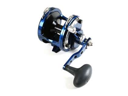 Avet HX 4.2 Single Speed Lever Drag Casting Reel Blue/Black Camo