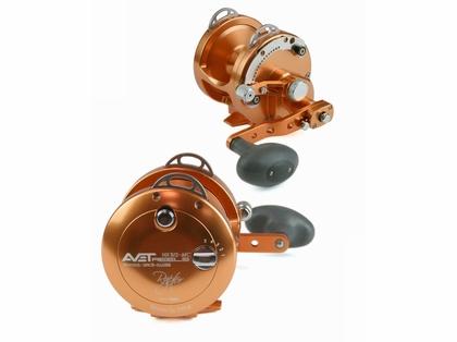 Avet HX 5/2 MC Raptor Two-Speed Lever Drag Casting Reel - Orange