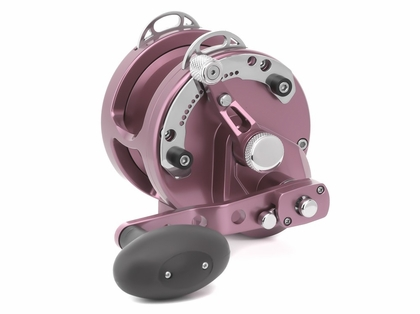 Avet HXJ 5/2 MC Raptor Two-Speed Lever Drag Casting Reel - Pink