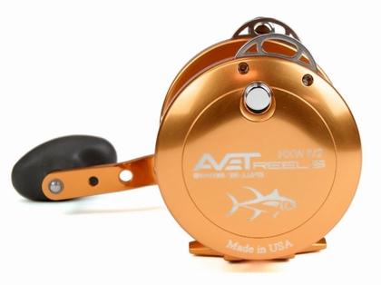 Avet HXW 5/2 Two-Speed Lever Drag Casting Reel - Orange