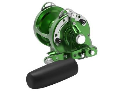 Avet HXW Raptor 3-Speed Lever Drag Casting Reel - Green