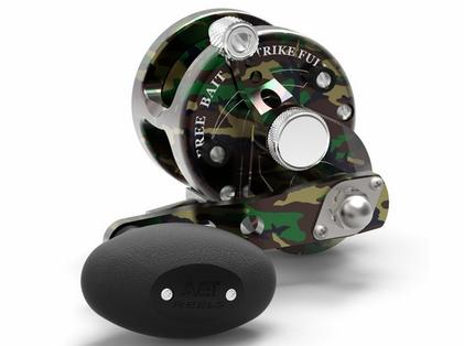 Avet JX 4.6 Single Speed Lever Drag Casting Reel - Camo