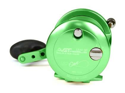 Avet LX 4.6 MC Single Speed Lever Drag Casting Reel Green