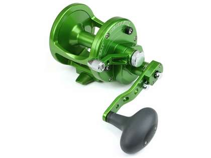 Avet LX 6/3 2-Speed Lever Drag Casting Reels Forest Green