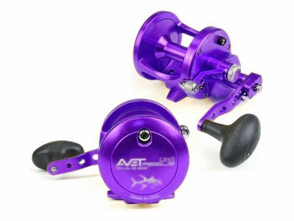 Avet LX 6.3 MC Raptor 2-Speed Lever Drag Casting Reel Purple