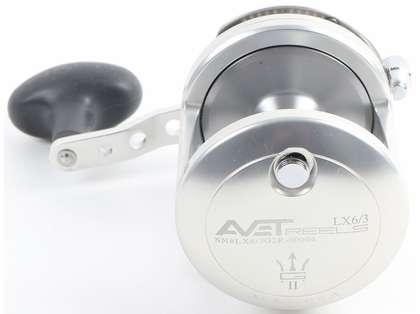 Avet LX G2 6/3 2-Speed Reel - Silver/Gun Metal Spool (Blemished)