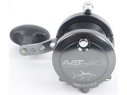 Avet MXJ 5.8 Single Speed Reel - Gunmetal (Blemished)