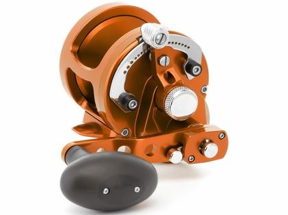 Avet MXJ 6/4 MC Raptor 2-Speed Lever Drag Casting Reel - Orange