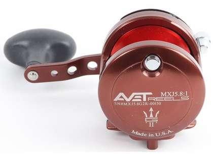 Avet MXJ G2 5.8 Single Speed Reel - Neptune's Heart (Blemished)