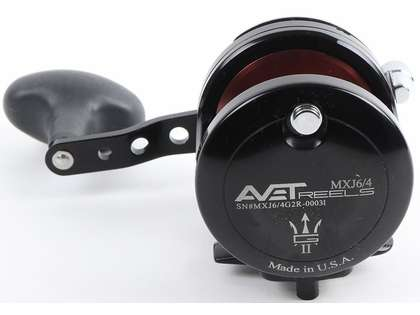 Avet MXJ G2 6/4 2-Speed Reel - Black/Brown Spool (Blemished)