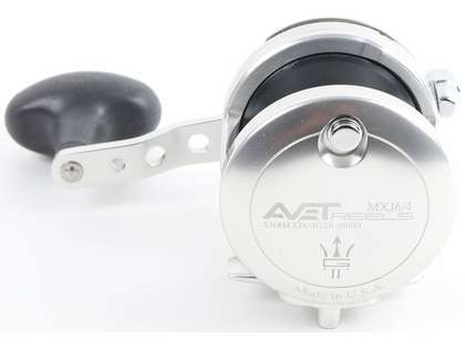 Avet MXJ G2 6/4 2-Speed Reel - Silver/Gun Metal Spool (Blemished)