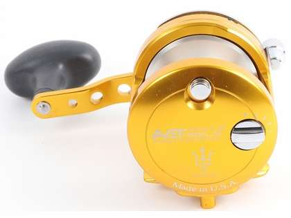 Avet MXJ G2 6/4 MC 2-Speed Reel - Gold/Silver Spool (Blemished)