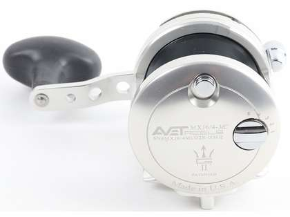 Avet MXJ G2 6/4 MC 2-Speed Reel - Silver/Gun Metal Spool (Blemished)