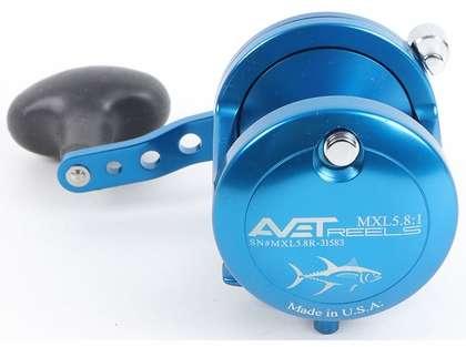 Avet MXL 5.8 Single Speed Reel - Blue (Blemished)