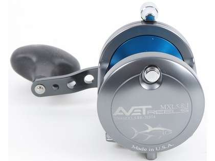 Avet MXL 5.8 Single Speed Reel - Gunmetal/Blue (Blemished)