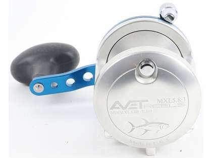 Avet MXL 5.8 Single Speed Reel - Silver (Blemished)